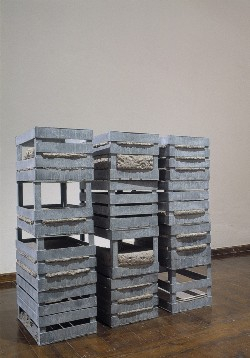 Perino & Vele - Small secret archives (magistrate's court), 2003 12 pieces of cm 26,5 x 50 x 30 each variable dimensions